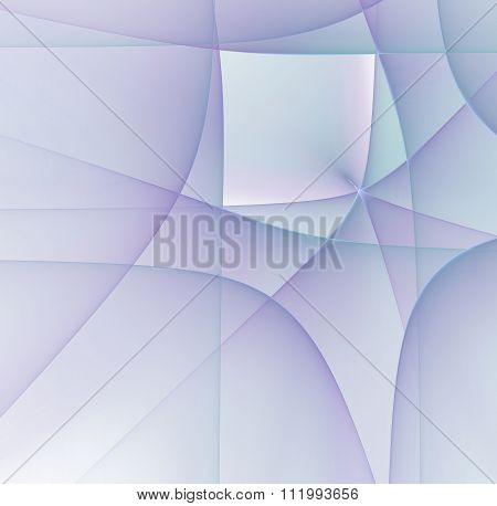 Abstract Light Purple Colored Background With Cubism Styled Texture, Fractal