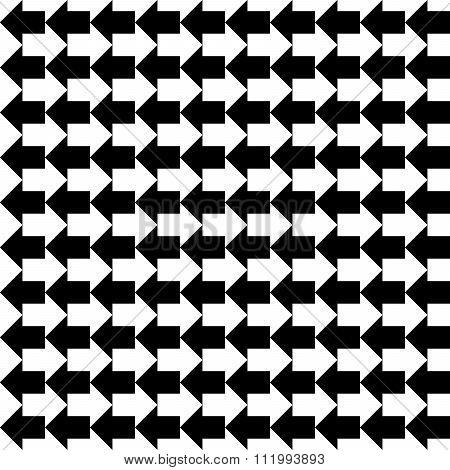 Arrows Seamless Geometric Pattern