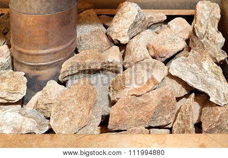 Sauna Stove With Stones
