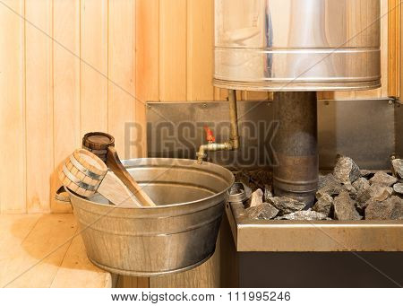 Sauna Accessories In Steam Room