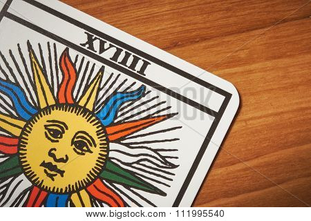 Tarot Card Sun For Clairvoyance And Divination