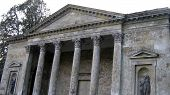 Roman Temple.Columns.Travel.Historical.Religious Place poster