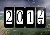 Постер, плакат: Новый год Рассвет