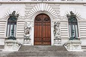 Entrance of the Italian Parliament