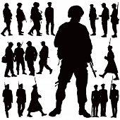 Постер, плакат: Военная коллекция