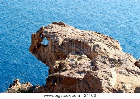 Extraña roca