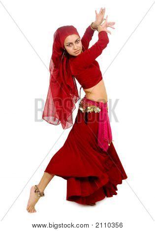 Beautiful Arabic Belly Dancer