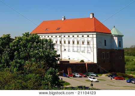 Old Royal Castle In Sandomierz, Poland.
