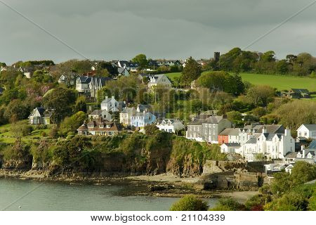 Seaside Irish houses