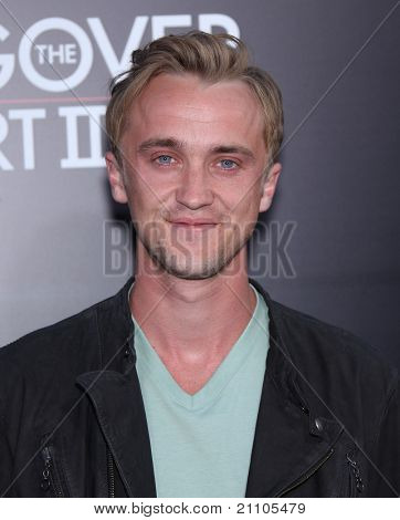 LOS ANGELES - JUN 19:  Tom Felton arrives to the