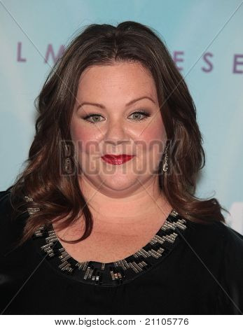 LOS ANGELES - JUN 16:  Melissa McCarthy arrives to the 2011WIF Crystal & Lucy Awards  on June 16,2011 in Beverly Hills, CA