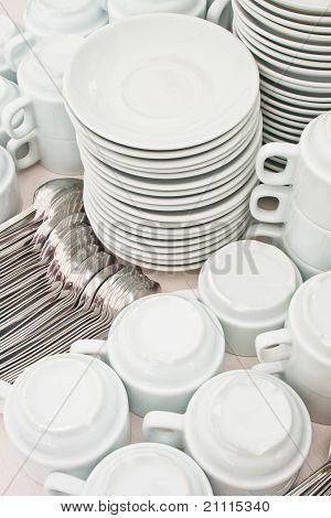 Pile Tea Tableware