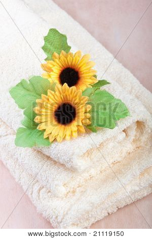 Comfortable Hotel Towels