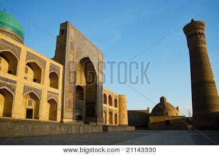 Poi Kalon Mosque Complex In Bukhara