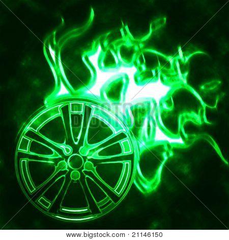 Rodas de queima