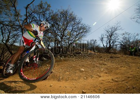 Burry Stander Climbing Through Corner