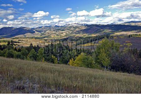 Landscape At Tetons Np