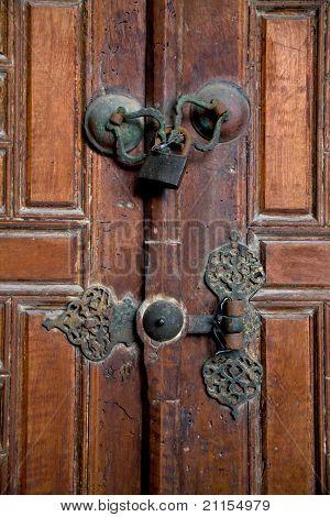 Old Closed Door