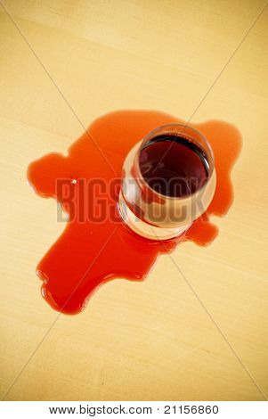 Red Wine Mishap