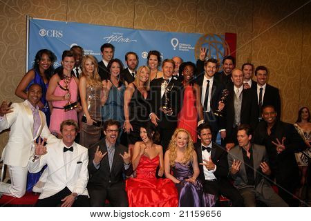 LAS VEGAS - JUN 19:  Bold & Beautiful Cast, Producers, Brad Bell in the Press Room of the  38th Daytime Emmy Awards at Hilton Hotel & Casino on June 19, 2010 in Las Vegas, NV.
