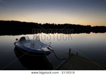 Sweden Boat Dock 2