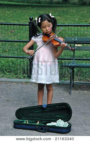 Violinist Busker