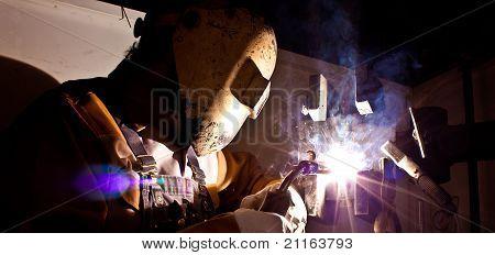 fluxcore welder