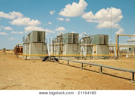 Gas Compressors.