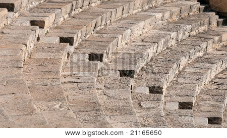 Steps Form Kourion Amphitheater