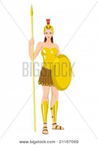 Greek God & Goddess_Athena