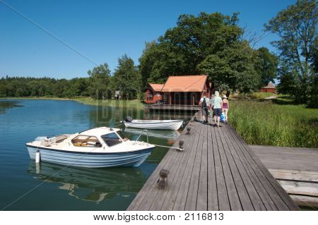 Sweden Boat Dock 10