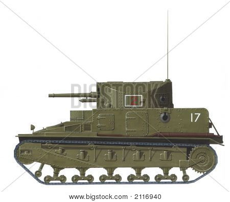 Vickers Medium Mk I