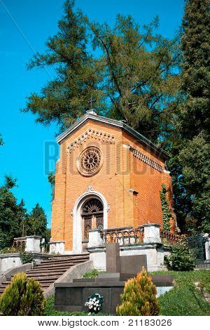 Old Crypt In The Cementery