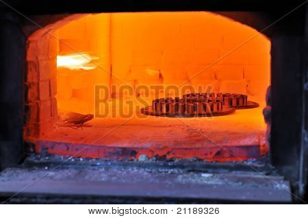 factory oven for steel