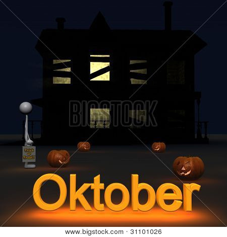 Stickman - October