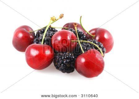 Cherries And Berries.