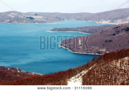 Mavrovo Lake, Macedonia