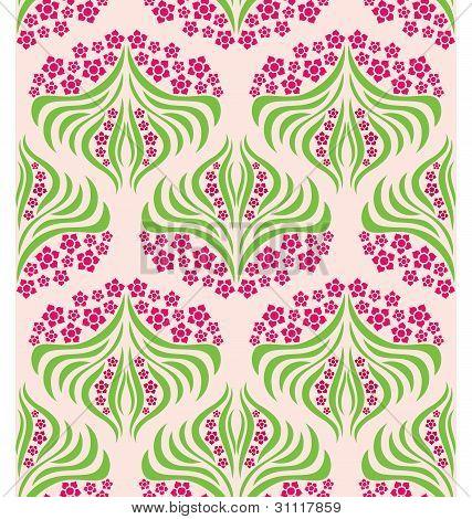 Flower Swirl Pattern