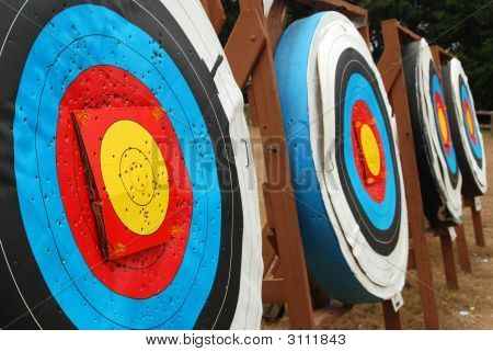 Row Of Targets