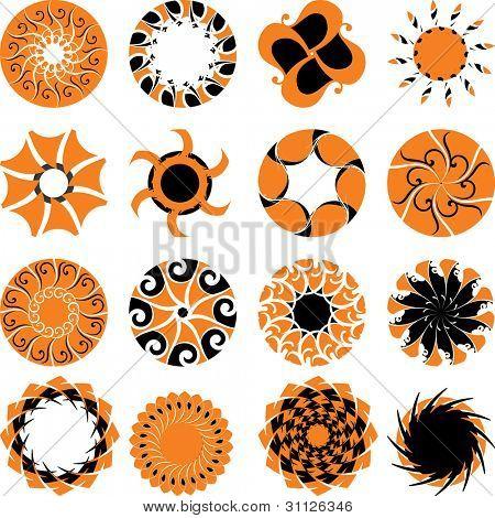abstract sun 03