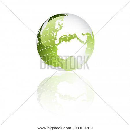 Green Globe Puzzle