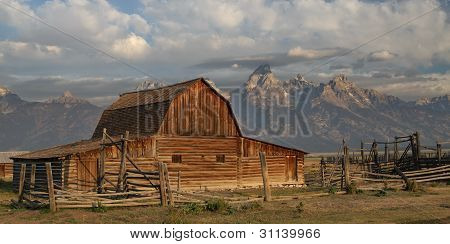 Morman Barn at the Tetons