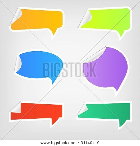 Speech icons