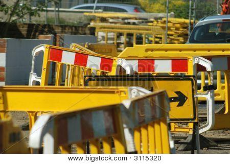 Roadworks Closeup
