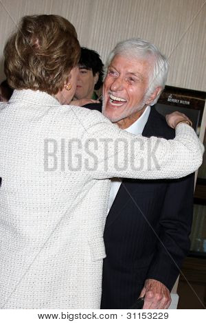 LOS ANGELES - MAR 18:  Julie Andrews, Dick Van Dyke arrives at the Professional Dancer's Society Gypsy Awards at the Beverly Hilton Hotel on March 18, 2012 in Los Angeles, CA
