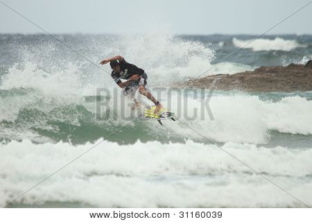 Coolangatta, Australia - Mar 03 : Quicksilver  Pro Asp World Tour, Heitor Alves During Expression Se