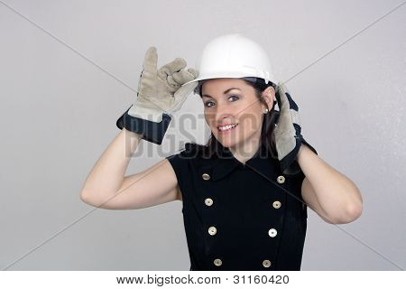 Beautiful Female Construction Worker (6)