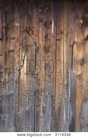 Weathered Wood Backround From An Old Barn
