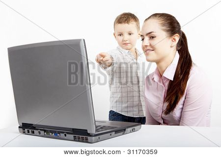 Technology and boy