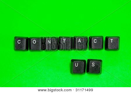Keyboard Plastic Keys With Words Contact Us